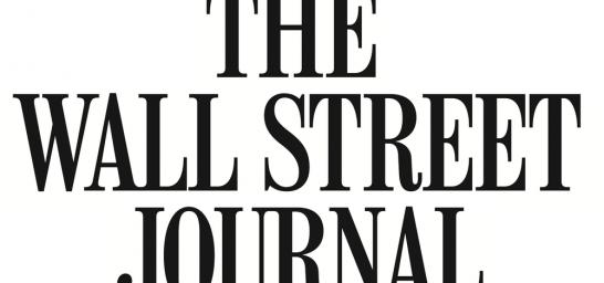 Trabalho de Elton Fernandes com The Wall Street Journal