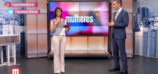 Elton Fernandes na TV Gazeta - Programa Mulheres - Catia Fonseca