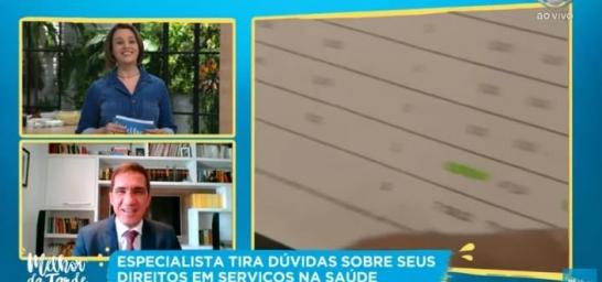 Elton Fernandes tira dúvidas no programa Melhor da Tarde