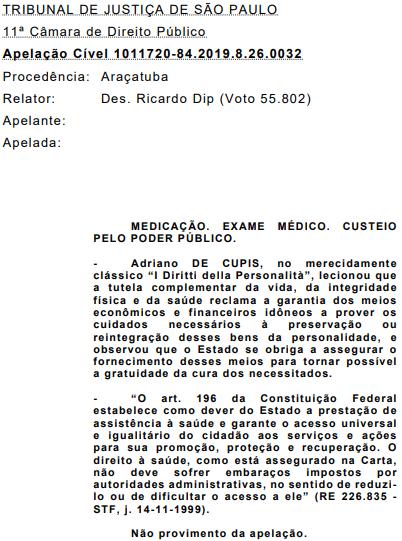 Olaparibe deve ser fornecido pelo SUS e plano de saúde